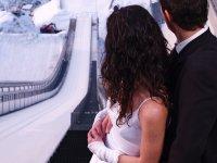 Hochzeit am Anlauf