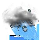 Wettericon: Regen