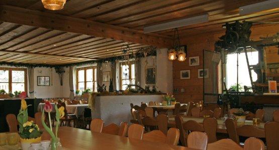 Das Webstüble-Restaurant in Thalkirchdorf