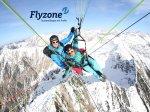 Flyzone Gleitschirm Tandemfliegen im Winter
