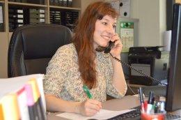 Valerie unsere Auszubildende zur Veranstaltungskauffrau