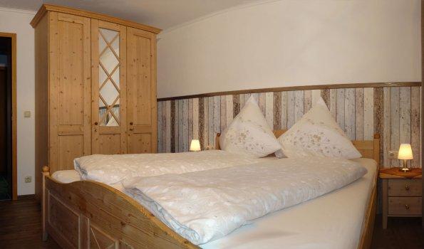 Schlafzimmer der Ferienwohnung Edelweiss