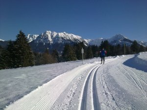 Langlauf in Kornau