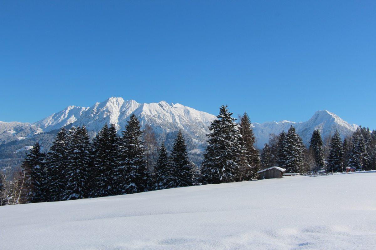 Ausblick Bergwelt · sonnenterrasse.de