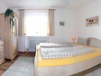 Schlafzimmer Ferienwohnung Rosi