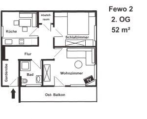 Fewo2 Grundriss