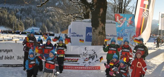 Kids Snow Event im Rahmen der Tour de Ski
