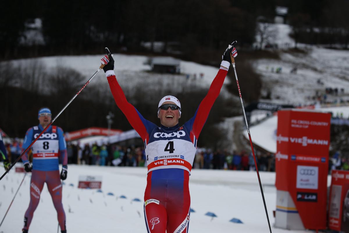 Sprintsieger Emil Iversen