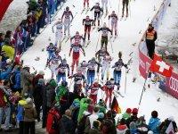 Massenstartrennen in Oberstdorf