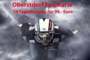 Oberstdorf Fan-Karte