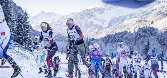 Tour de Ski Anstieg