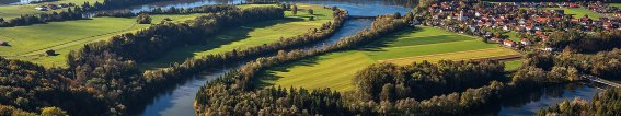 Besuchen Fluesse Seen und Natur Fluss Lech
