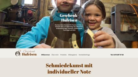 Geschenk-Hufeisen