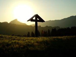 Sonnenuntergang auf Ellenschwanden