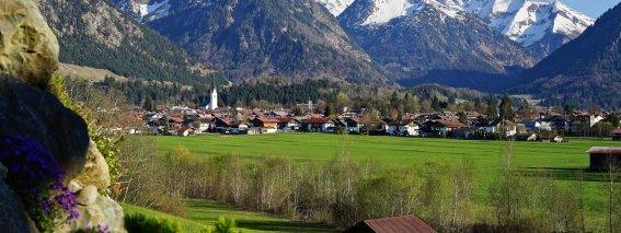 Oberstdorf im Herbst