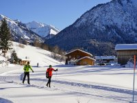 Langlaufen in Oberstdorf
