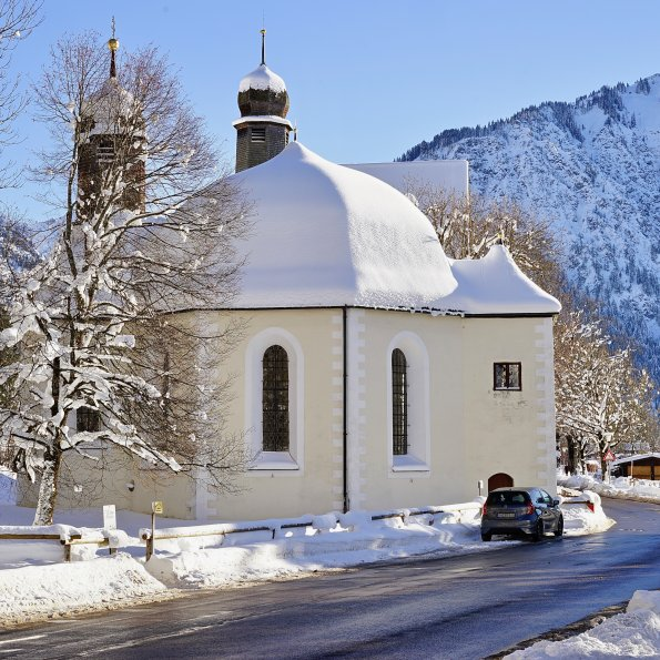 Loretto-Kapellen im Winter