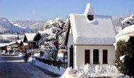 Pestkapelle im Winter