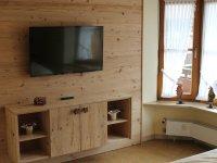TV-Wand im Schlafzimmer