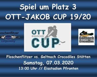Flyer Spiel um Platz 3 OTT-JAKOB Cup 19-20