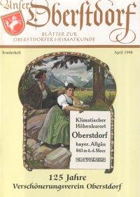 Titelseite - Sonderheft 1998