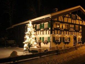 Wendelar's Hüs zur Weihnachtszeit