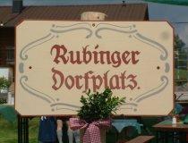 Herzlich Willkommen auf dem Rubinger Dorfplatz