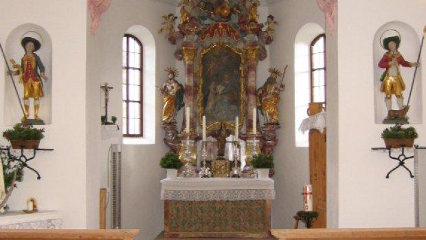 Kapelle Rubi von Innen