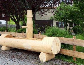 Unser neuer Dorfbrunnen