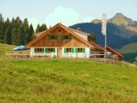 Neue Bichler Alpe mit Grünten