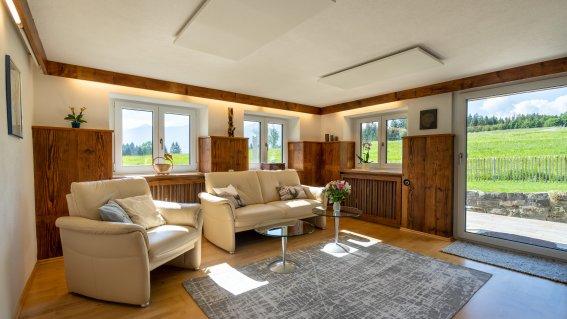 Landhaus Tröster - Wohnung Florin - Wohnzimmer