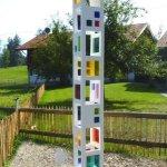 Lichtspiel- und Farbreflexionssäule - Landhaus Tröster