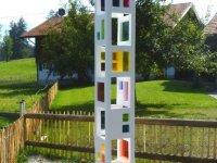 Lichtspiel- und Farbreflexionssäule - Landhaus Tröster Wohnung Florin