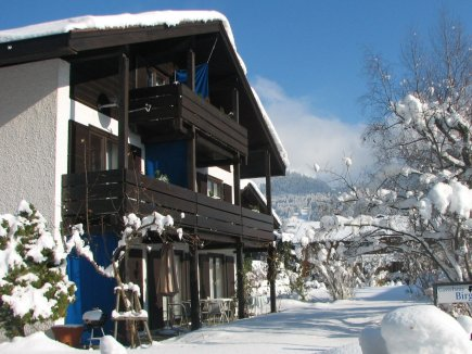 Haus Birgit im Winter
