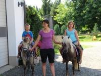 Reiten mit Manjana und Lena