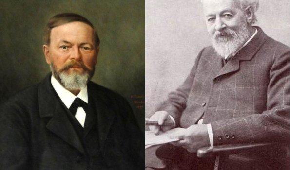 Josef Anton Vogler und Hofrat Dr. Ulrich Reh