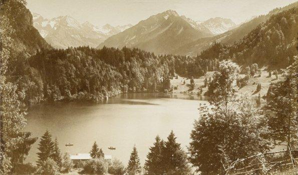 Freibergsee um 1910