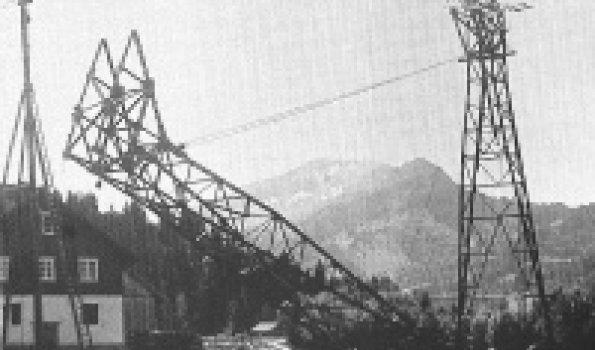 Bau Nebelhornbahn 1928