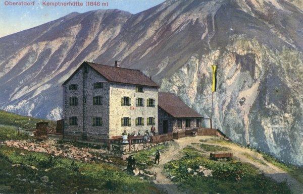 Kemptner Hütte um 1904