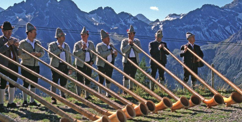 Alphornbläser - Oberstdorf Tradition