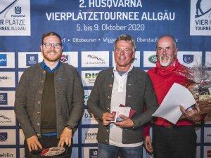 Herren-Sieger v.l.: Paul Sierocinski (1.), Manfred Stock (2.) und Jürgen Hahn (3.)