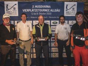 3. Platz Schanzenshot v.l. Richard Domagalla, Ulrich Ink und Norbert Grimm