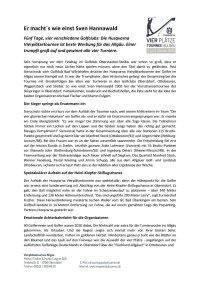 Vierplätzetournee 2020 Pressemitteilung Nachbericht