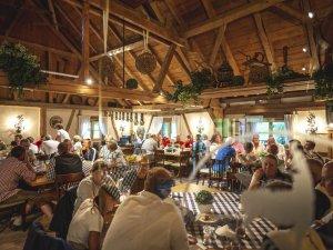 Allgäuer Atmosphäre im Steibinger Clubhaus