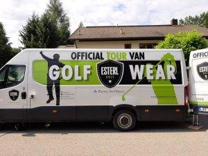 Der Tour Van von Elisabeth Esterl