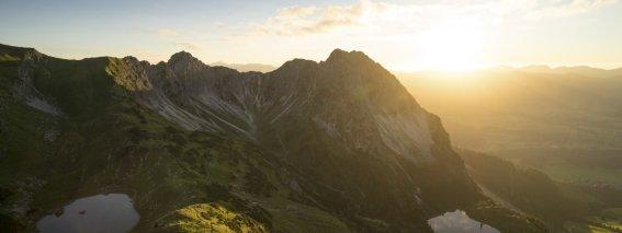 Sonnenuntergang an den Gaisalpseen (c) Eren Karaman