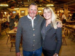 Die ersten Sieger der Vierplätzetournee: Sabine Kern und Richard Stowasser