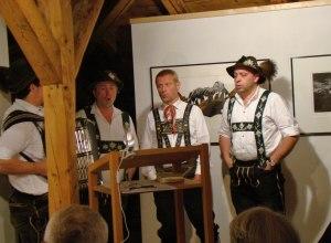 Kooperation mit KWT - Jodlerquartett Boxler+Kessler 2010