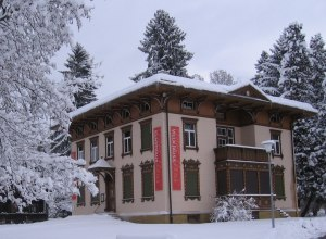 Villa Jauss im Winter