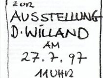 1997 Willand Einladung